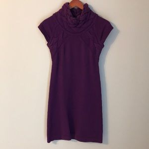 Purple banana Republic sweater dress